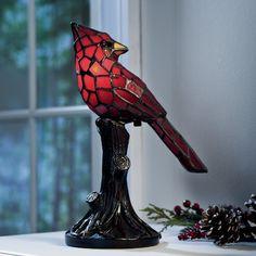 "Plow & Hearth Cardinal 7.5"" Table Lamp & Reviews   Wayfair"