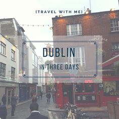 Oh, Dublin.... I have been dreaming about going to Dublin and the rest of Ireland for as long as I can remember. Growing up, each time I was asked what my ultimate dream trip would be, I usually said it was Ireland. Obviously, Ireland was the...