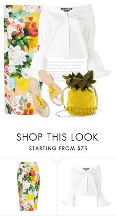 """""""Shades of summer"""" by anne-irene ❤ liked on Polyvore featuring Melissa McCarthy Seven7, Jacquemus and plus size clothing"""