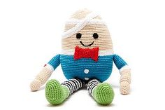 Humpty Dumpty Crochet Toy