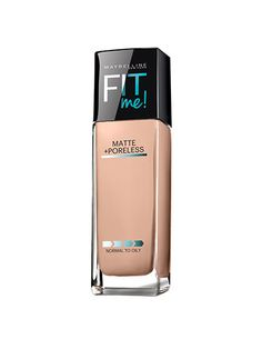 Best of Beauty 2015 Winner -- The best foundation for oily/acne-prone skin: Maybelline New York Fit Me Matte + Poreless Foundation | allure.com
