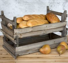 Rustic Stackable Wooden Crate