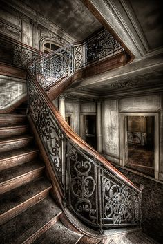 Up the down stairs... (Explore #10) (by klickertrigger)