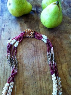 The colors of this Ni'ihau shell lei is gorgeous.