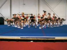 Legacy's Dance - YouTube LOVE! Cheer Camp, Football Cheer, Cheer Coaches, Cheerleading Moves, Cheer Stunts, Gymnastics, Cheer Dance Routines, High School Cheer, Dance Camp