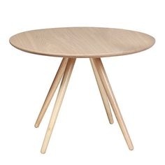 Ash Coco Dining Table 90cm dia