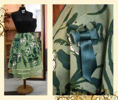 Evil Dressmaker » Blog Archive » DIY Helppo hame kierrättäen