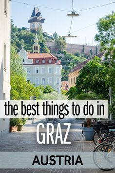 The best things to do in Graz, Austria: A local guide European Travel Tips, Europe Travel Guide, Travel Guides, Visit Austria, Austria Travel, Austria Tourism, Europe Destinations, Holiday Destinations, Backpacking Europe