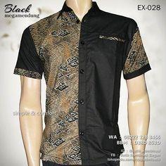 BATIK SERAGAM, Batik Pria, Baju Batik Kombinasi, Batik Kantor Eksklusif, BLACK MEGAMENDUNG, Kemeja Batik Modern, Casual Batik, https://www.facebook.com/seragambatikkombinasi, WA : 08222 128 3456, BBM : D38D 853D