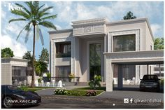Classical Luxury Residence in Dubai designed by kwec.