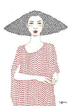Elle (Girls series) by Sofia Bonati – People Drawing Sofia Bonati, Girls Series, Art Plastique, Doodle Art, Oeuvre D'art, Fashion Illustrations, Art Projects, Art Drawings, Illustration Art