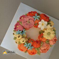 Buttercream Flower Cake by WeCake