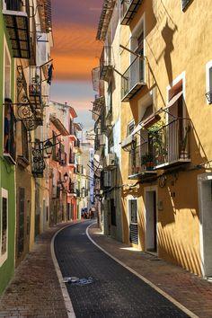 Streets of Villanueva, Spain