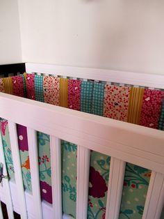 DIY crib bumper