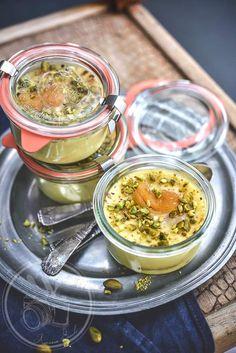 Petit far breton abricots et pistache
