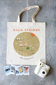 Palm Springs Tote  See more here: http://shop.weddingchicks.com/palm-springs-tote-minimum-set-of-20/