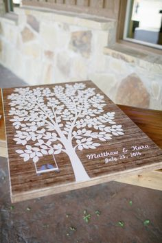 Natural Whimsical White And Green Outdoor Wedding In Oklahoma Guestbook