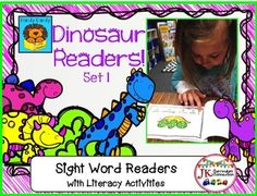 DINOSAURS! Beginning Readers for Guided Reading Set 1 {CCSS}