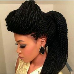 Super Styles For Natural Hair Twists And Style On Pinterest Hairstyle Inspiration Daily Dogsangcom