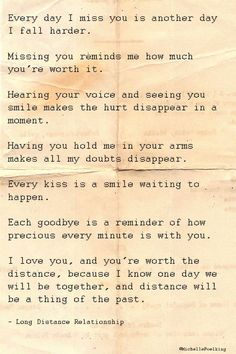 Source: Long Distance Relationship Quotes To Help You & Your Love The Words, My Sun And Stars, Relationships Love, Long Distance Relationships, Military Relationships, Long Distance Relationship Quotes Miss You, Relationship Advice, Cute Quotes, Sweet Quotes