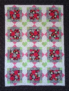 1000+ images about Quilt to use large prints on Pinterest Quilt kits, Quilt and Quilt patterns