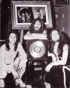 Le Orme (durante la turnee) Londra 1973