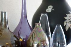 styling glazen vazen en ikea vaas hella jongerius   Stylist en Interieurontwerper www.stijlidee.nl