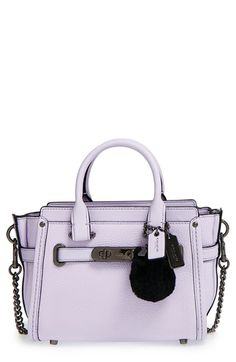 I NEED THIS SO BADLY UGH  COACH x Ariana Grande 'Swagger 20' Leather Satchel available at #Nordstrom