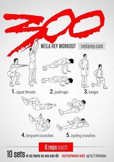 Neila Ray 300 Workout