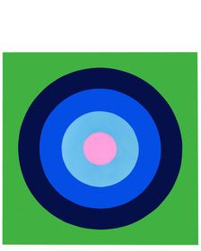"""Ultra Glossy Target on Grass Green"" by Stephanie Henderson Green Grass, Chicago Cubs Logo, Art Oil, Art For Sale, Original Artwork, Art Pieces, Art Gallery, Wall Art, The Originals"
