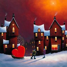 Romantic and Vibrant Paintings by David Renshaw | Cuded