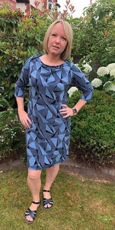 Alex's Romy dress - sewing pattern by Tilly and the Buttons