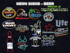 36 Neon Signs