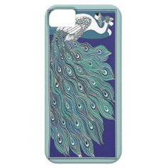 Art Nouveau Peacock iPhone5 Case Mate iPhone 5 Cases