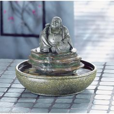 Charmant Http://diy Gardensupplies.com/ FENG SHUI LAUGHING BUDDHA FOUNTAIN INDOOR