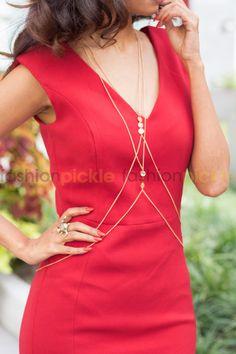 Freesia Body Chain