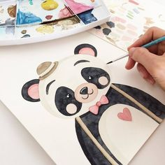 Since China began enforcing the One-Child Policy in , over 37 million girls have disappeared in the world Watercolor Illustration, Watercolour Painting, Painting & Drawing, Arte Fashion, Baby Art, Watercolor Animals, Drawing For Kids, Easy Drawings, Art Tutorials
