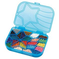 Features: beads in 24 colors. Store everything in the star-shaped palette. Layout tray, bead pen, or sprayer not included Over 2400 classic and jewel beads...   toys4mykids.com