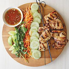 Thai Street Chicken   MyRecipes.com #myplate