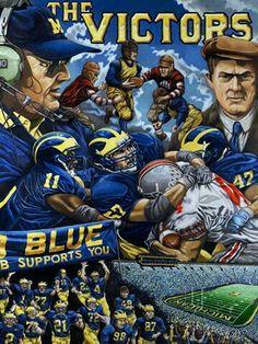 Love this! Go Blue! The team.  The team. The team.