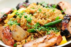 Roasted Pork with Chinese Cuisine - Grill Recipes