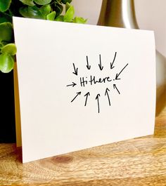 A personal favorite from my Etsy shop https://www.etsy.com/listing/531241454/hello-newman-hello-card-seindeld-cards