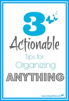 3 Actionable Tips fo