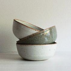 Handmade Pottery Soup Bowl Stoneware Ceramic by SheldonCeramics