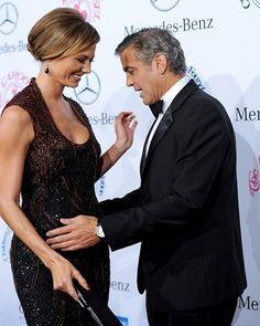 Goerge Clooney dan Stacy Keibler