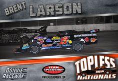 iou1 - Brent Larson #speedshopnorth #iou1 #racing #dirt #track #latemodel #brentlarson #topless Late Model Racing, Dirt Track, Race Cars, Drag Race Cars