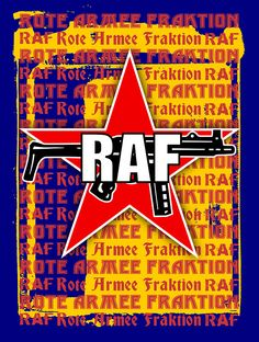RAF Red Army Faction Posters and Prints.