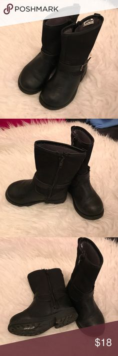Baby boots Carters boots. Pre owned baby girl boots, size 6, only worn a few times. Carter's Shoes Boots