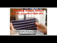 I purchased a Janome Coverstitch machine. Finally.... I totally gave up on sewing t-shirts with my good old Singer 401 sewing machine. I am really excited to...