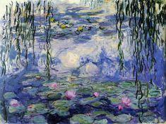 Nemufares Monet . Plantas aquaticas!